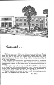 Page 9, 1952 Edition, University of Wisconsin Stevens Point - Horizon / Iris Yearbook (Stevens Point, WI) online yearbook collection