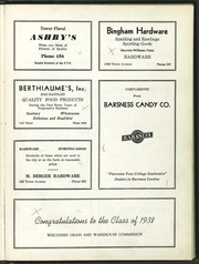 University of Wisconsin Superior - Gitche Gumee Yearbook (Superior, WI) online yearbook collection, 1938 Edition, Page 117