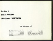 Page 7, 1956 Edition, University of Wisconsin Superior - Gitche Gumee Yearbook (Superior, WI) online yearbook collection
