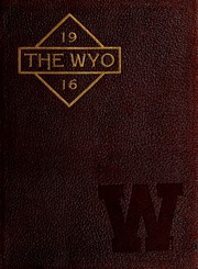 University of Wyoming - WYO Yearbook (Laramie, WY) online yearbook collection, 1915 Edition, Cover
