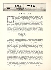 Page 10, 1915 Edition, University of Wyoming - WYO Yearbook (Laramie, WY) online yearbook collection