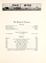 Page 13, 1915 Edition, University of Wyoming - WYO Yearbook (Laramie, WY) online yearbook collection