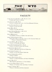 Page 14, 1915 Edition, University of Wyoming - WYO Yearbook (Laramie, WY) online yearbook collection