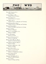 Page 16, 1915 Edition, University of Wyoming - WYO Yearbook (Laramie, WY) online yearbook collection