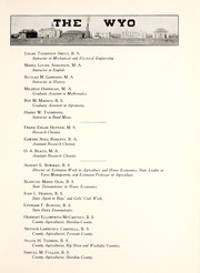 Page 17, 1915 Edition, University of Wyoming - WYO Yearbook (Laramie, WY) online yearbook collection