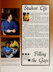 Page 13, 1988 Edition, University of Wyoming - WYO Yearbook (Laramie, WY) online yearbook collection