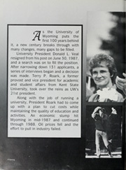 Page 6, 1988 Edition, University of Wyoming - WYO Yearbook (Laramie, WY) online yearbook collection