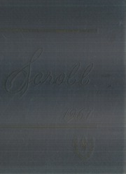 University of Central Arkansas - Scroll Yearbook (Conway, AR) online yearbook collection, 1967 Edition, Cover