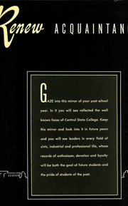 Page 8, 1950 Edition, University of Central Oklahoma - Bronze Yearbook (Edmond, OK) online yearbook collection