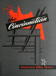 University of Cincinnati - Cincinnatian Yearbook (Cincinnati, OH) online yearbook collection, 1953 Edition, Cover