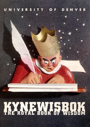 University of Denver - Kynewisbok Yearbook (Denver, CO) online yearbook collection, 1941 Edition, Cover