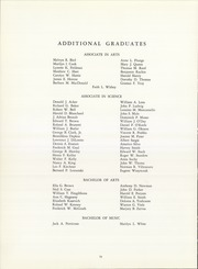 University of Hartford - Yearbook (Hartford, CT) online yearbook collection, 1961 Edition, Page 82