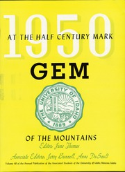 University of Idaho - Gem of the Mountains Yearbook (Moscow, ID) online yearbook collection, 1950 Edition, Page 11