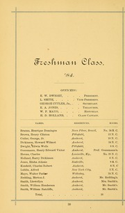 University of Massachusetts Amherst - Index Yearbook (Amherst, MA) online yearbook collection, 1882 Edition, Page 44