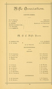 University of Massachusetts Amherst - Index Yearbook (Amherst, MA) online yearbook collection, 1882 Edition, Page 66