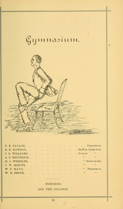 University of Massachusetts Amherst - Index Yearbook (Amherst, MA) online yearbook collection, 1882 Edition, Page 67 of 156