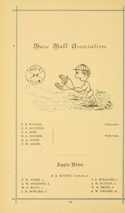 University of Massachusetts Amherst - Index Yearbook (Amherst, MA) online yearbook collection, 1882 Edition, Page 68