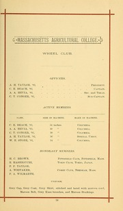 University of Massachusetts Amherst - Index Yearbook (Amherst, MA) online yearbook collection, 1883 Edition, Page 73