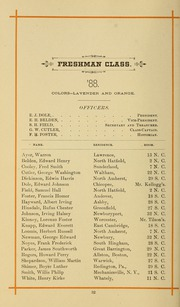 University of Massachusetts Amherst - Index Yearbook (Amherst, MA) online yearbook collection, 1886 Edition, Page 42