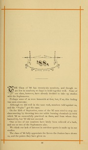 University of Massachusetts Amherst - Index Yearbook (Amherst, MA) online yearbook collection, 1886 Edition, Page 43 of 144