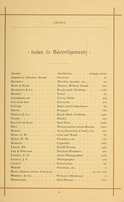 University of Massachusetts Amherst - Index Yearbook (Amherst, MA) online yearbook collection, 1888 Edition, Page 17