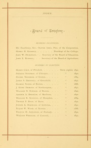 University of Massachusetts Amherst - Index Yearbook (Amherst, MA) online yearbook collection, 1888 Edition, Page 34 of 152