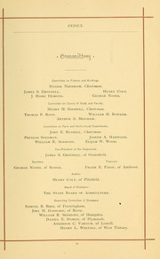 University of Massachusetts Amherst - Index Yearbook (Amherst, MA) online yearbook collection, 1888 Edition, Page 35