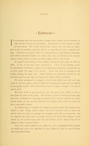 University of Massachusetts Amherst - Index Yearbook (Amherst, MA) online yearbook collection, 1889 Edition, Page 21 of 138