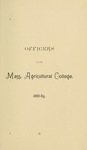University of Massachusetts Amherst - Index Yearbook (Amherst, MA) online yearbook collection, 1890 Edition, Page 27 of 160