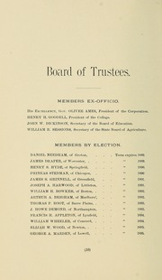 University of Massachusetts Amherst - Index Yearbook (Amherst, MA) online yearbook collection, 1890 Edition, Page 28