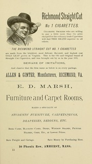 University of Massachusetts Amherst - Index Yearbook (Amherst, MA) online yearbook collection, 1891 Edition, Page 143