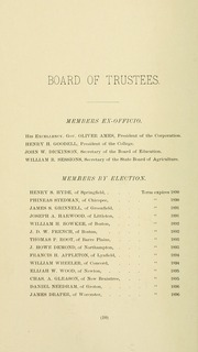 University of Massachusetts Amherst - Index Yearbook (Amherst, MA) online yearbook collection, 1891 Edition, Page 32