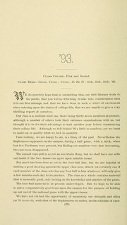 University of Massachusetts Amherst - Index Yearbook (Amherst, MA) online yearbook collection, 1891 Edition, Page 50