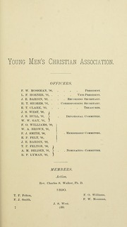 University of Massachusetts Amherst - Index Yearbook (Amherst, MA) online yearbook collection, 1891 Edition, Page 77 of 168