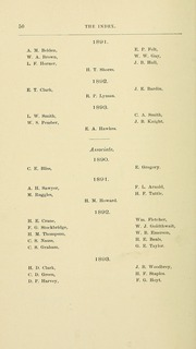 University of Massachusetts Amherst - Index Yearbook (Amherst, MA) online yearbook collection, 1891 Edition, Page 78