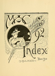 University of Massachusetts Amherst - Index Yearbook (Amherst, MA) online yearbook collection, 1892 Edition, Page 11