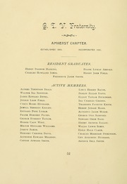 University of Massachusetts Amherst - Index Yearbook (Amherst, MA) online yearbook collection, 1893 Edition, Page 70 of 194