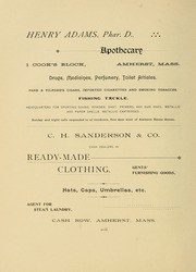 University of Massachusetts Amherst - Index Yearbook (Amherst, MA) online yearbook collection, 1894 Edition, Page 186