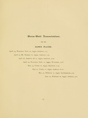 University of Massachusetts Amherst - Index Yearbook (Amherst, MA) online yearbook collection, 1895 Edition, Page 101