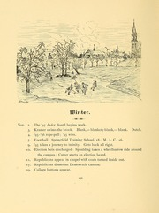 University of Massachusetts Amherst - Index Yearbook (Amherst, MA) online yearbook collection, 1895 Edition, Page 164