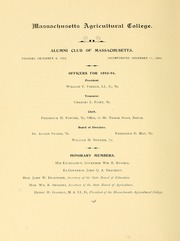 University of Massachusetts Amherst - Index Yearbook (Amherst, MA) online yearbook collection, 1895 Edition, Page 176