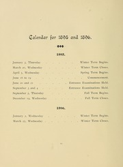Page 16, 1896 Edition, University of Massachusetts Amherst - Index Yearbook (Amherst, MA) online yearbook collection