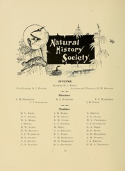 University of Massachusetts Amherst - Index Yearbook (Amherst, MA) online yearbook collection, 1896 Edition, Page 88