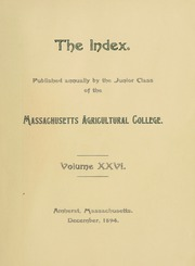 Page 9, 1896 Edition, University of Massachusetts Amherst - Index Yearbook (Amherst, MA) online yearbook collection