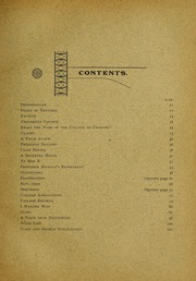 Page 15, 1899 Edition, University of Massachusetts Amherst - Index Yearbook (Amherst, MA) online yearbook collection