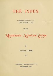 Page 7, 1899 Edition, University of Massachusetts Amherst - Index Yearbook (Amherst, MA) online yearbook collection