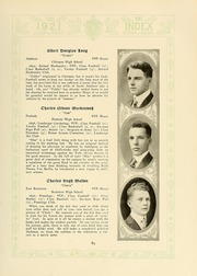 University of Massachusetts Amherst - Index Yearbook (Amherst, MA) online yearbook collection, 1921 Edition, Page 93