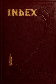 University of Massachusetts Amherst - Index Yearbook (Amherst, MA) online yearbook collection, 1923 Edition, Cover