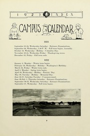 Page 15, 1923 Edition, University of Massachusetts Amherst - Index Yearbook (Amherst, MA) online yearbook collection