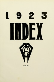 Page 7, 1923 Edition, University of Massachusetts Amherst - Index Yearbook (Amherst, MA) online yearbook collection